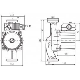 Циркуляционный насос Wilo Star-RS30/8