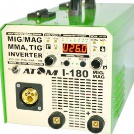 Сварочный полуавтомат Атом I-180 MIG/MAG без горелки и кабелей