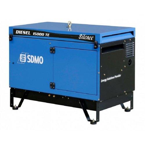 Генератор дизельный SDMO Diesel 15000 TE Silence