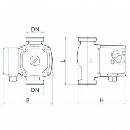 Циркуляционный насос Rudes RH 20-6-130 | (Китай)