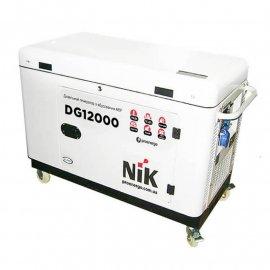Генератор NiK DG 12000 ІІІ ф