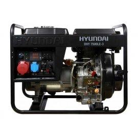 Генератор Hyundai DHY 7500LE-3