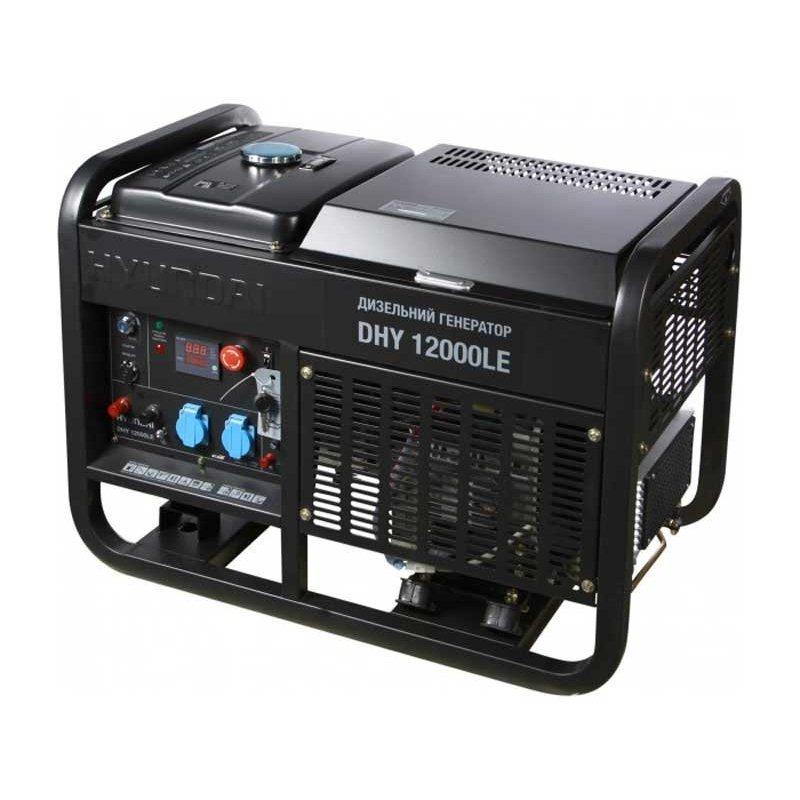 Генератор Hyundai DHY 12000LE