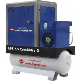 Компрессор AIRPRESS APS 7.5 COMBI DRY X