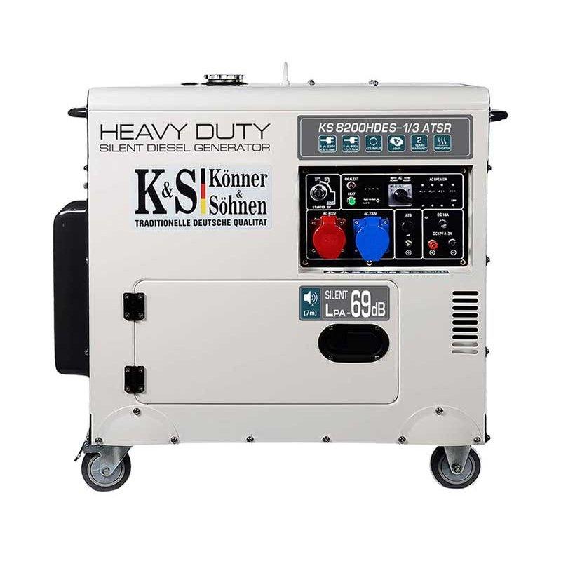 Генератор Konner&Sohner KS 8200HDES-1/3  ATSR