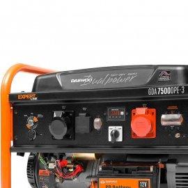 Генератор Daewoo GDA 7500DPE-3