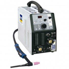 Аргонно-дуговой сварочный аппарат GYS TIG 200 AC/DC с аксессуарами SR 26DB (011618)