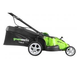 Газонокосилка Greenworks G40LM49DB