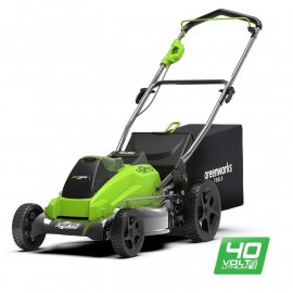 Газонокосилка Greenworks GD40LM45К4