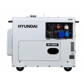 Генератор Hyundai DHY 8000 SE