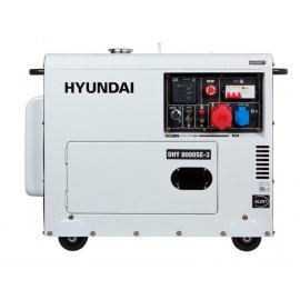 Генератор Hyundai DHY 8000 SE 3