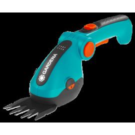 Садовые ножницы аккумуляторные Gardena ComfortCut ручка, колеса