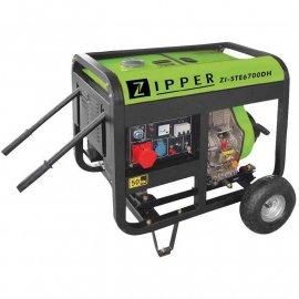 Дизельный генератор Zipper ZI-STE6700DH