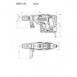 Перфоратор Metabo MHEV 5 BL