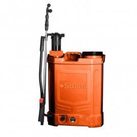 Опрыскиватель 16л аккумуляторный с ручной подкачкой Sturm GS8216BM