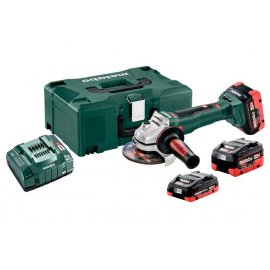 Аккумуляторная болгарка Metabo WB 18 LTX BL 125 QUICK SET (613077940)