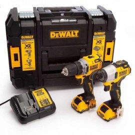 Набор с двух инструментов бесщеточных DeWalt DCK2110L2T