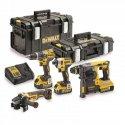 Набор из четырех инструментов бесщеточных DeWalt DCK422P3