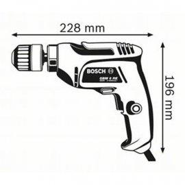 Дрель Bosch GBM 6 RE