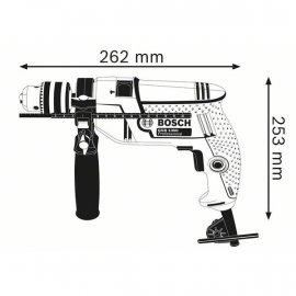 Дрель ударная Bosch GSB 550