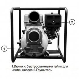 Мотопомпа Odwerk GTP 100 A