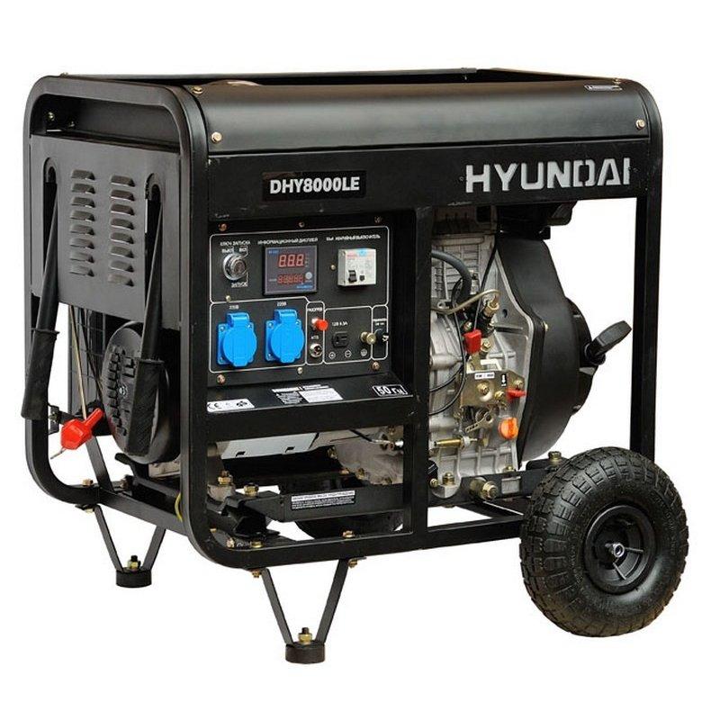 Генератор Hyundai DHY 8000 LE
