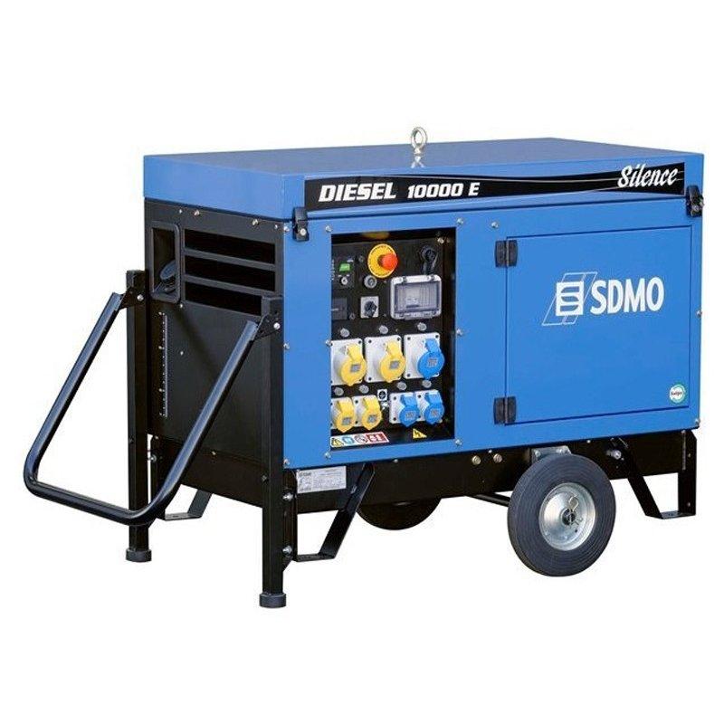Генератор SDMO Diesel 10000 E Silence