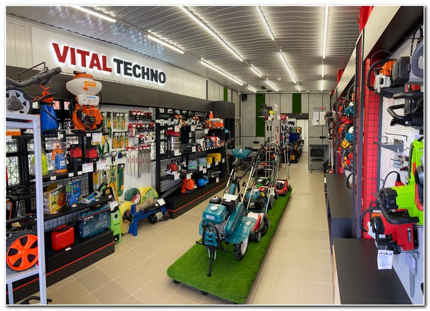 Магазин-шоурум Vital Techno