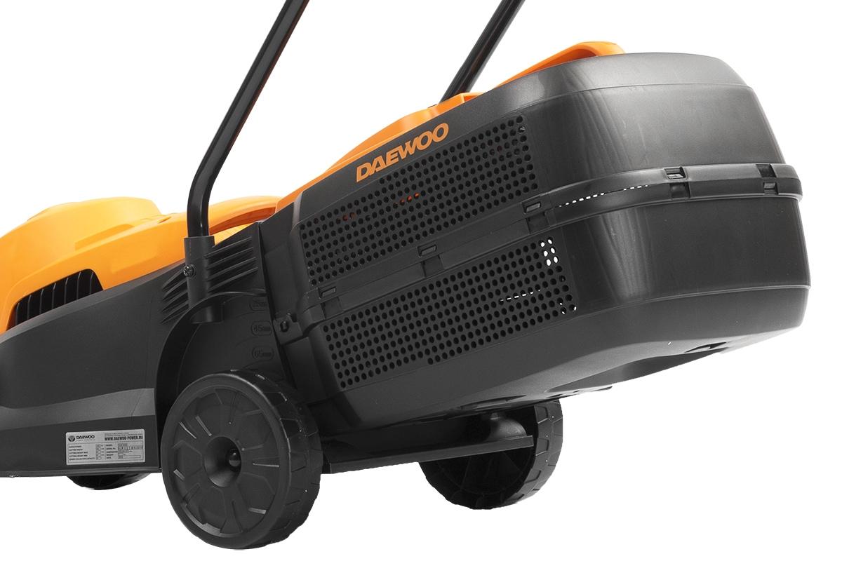 Электрическая газонокосилка Stark LM-1200  - Ударостойкий корпусПластиковый корпус сп...